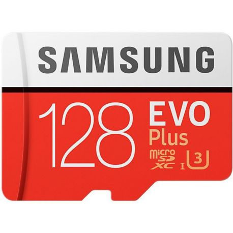 Mémoire SAMSUNG Micro SD 128Go EVO PLUS  + adapt