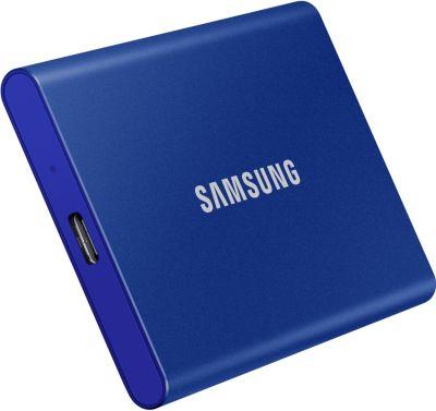 Disque SSD Samsung portable SSD T7 1TO Blue indigo