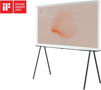 TV QLED Samsung The Serif QE55LS01T Blanc2020