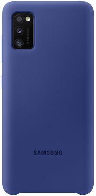 Coque Samsung A41 Silicone bleu