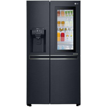 Réfrigérateur américain LG GSX960MTAZ CARBONE