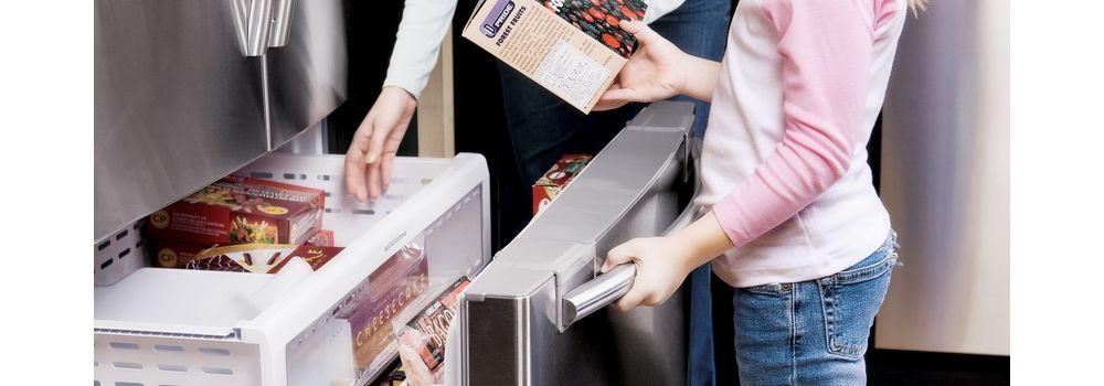 Samsung RFQEPNXEF Réfrigérateur Américain Boulanger - Refrigerateur multi portes samsung