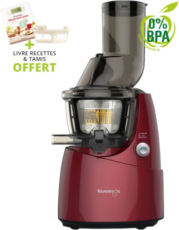 Extracteur de jus KUVINGS Whole B9400R rouge + tamis
