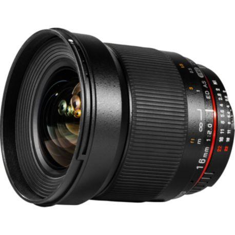 Objectif SAMYANG 16mm f/2 ED AS UMC CS Canon