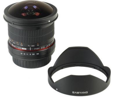 Objectif Pour reflex samyang 8mm f/3.5 umc fisheye cs ii sony