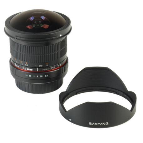 Objectif SAMYANG 8mm f/3.5 UMC Fisheye CS II Sony