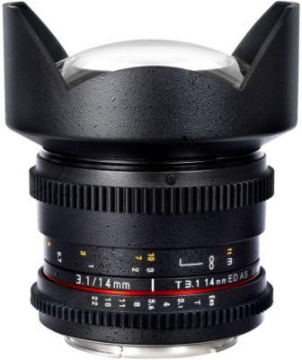 Objectif pour Reflex Samyang 14mm T3.1 ED AS IF UMC VDSLR II Canon