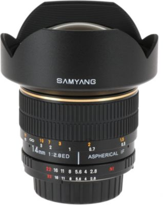 Objectif pour Reflex Samyang 14mm f/2.8 IF ED UMC Canon