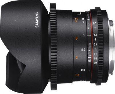 Accessoire Samyang 14mm t3.1 vdslr ii sony e