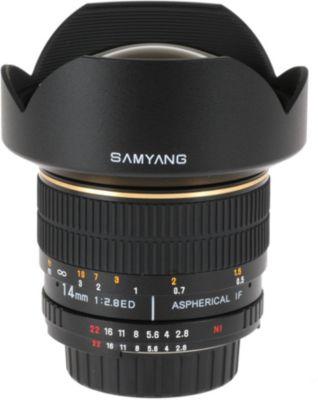 Objectif Pour reflex samyang 14mm f/2.8 if ed umc nikon
