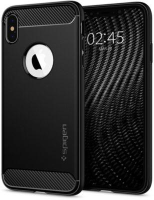 coque iphone xs fine noir spigen