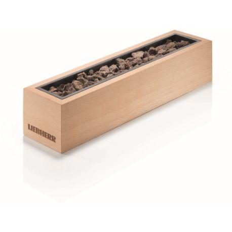 ACC-GAM LIEBHERR Pierres de lave avec box en bois