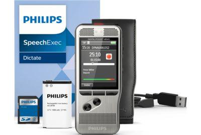 DICTAPHONE PHILIPS Pocket-Mémo DPM6000