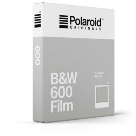 Papier POLAROID Noir et Blanc Film for 600 x8