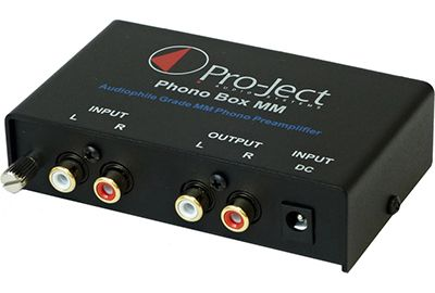 Préampli PRO-JECT PHONO BOX MM DC BLACK