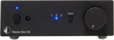 Amplificateur HiFi Pro-Ject STEREO BOX S2 BLACK