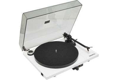Platine TD PRO-JECT ESSENTIAL III blanche OM10 FR