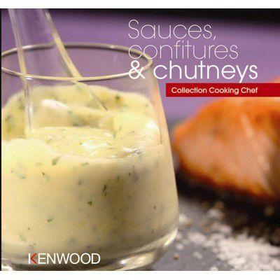 kenwood sauces confitures et chutneys livre de cuisine tablette de cuisine boulanger. Black Bedroom Furniture Sets. Home Design Ideas