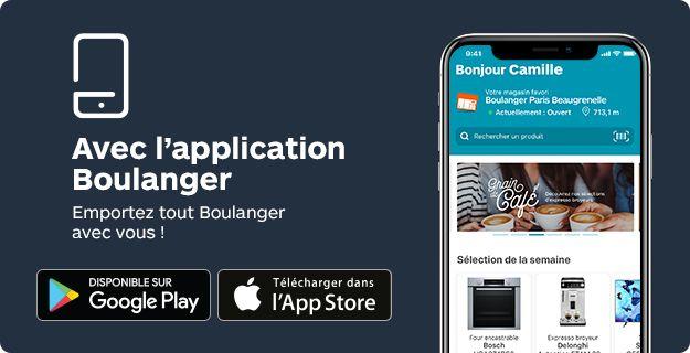 Découvrez notre application Boulanger disponible sur Google Play Store et Apple AppStore