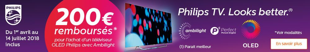 Offre Oled Philips