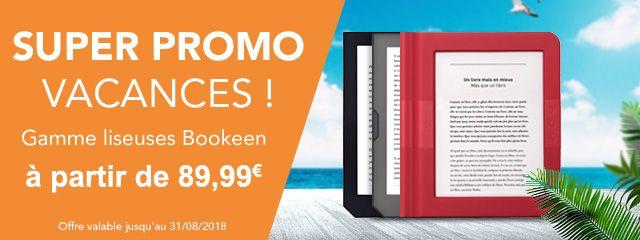 Promo Vacances Bookeen !