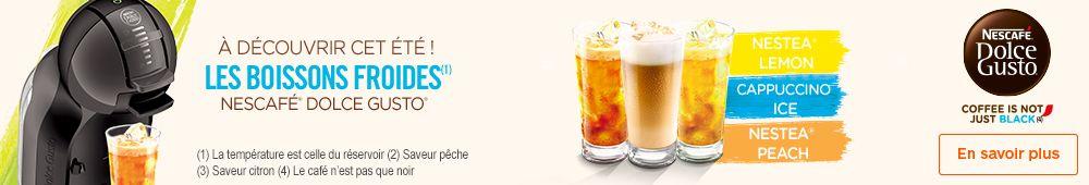Capsules pour boissons froides !