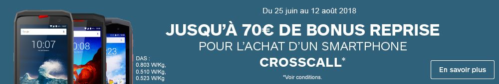 OFFRE CROSSCALL