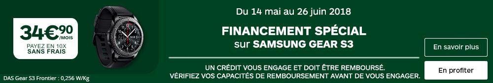 FINANCEMENT GEAR S3