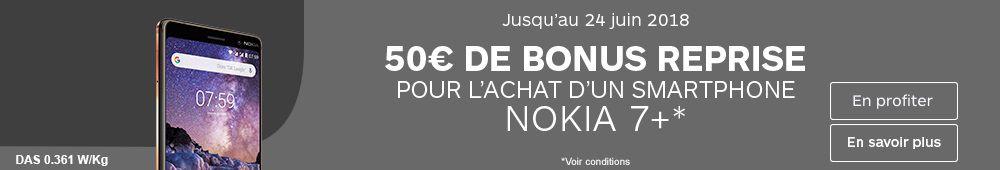 50€ de bonus reprise