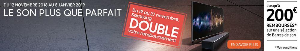 Samsung vous rembourse