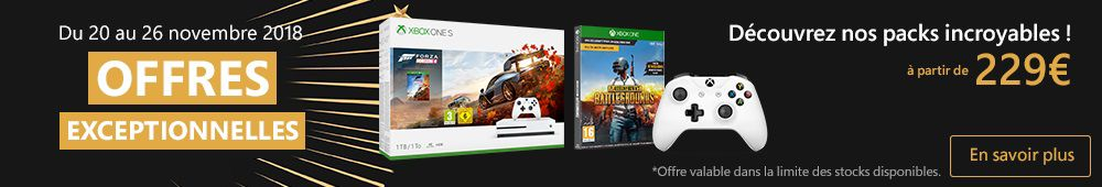 OFFRE XBOX black friday