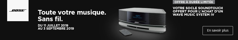 Offre bose Wave music
