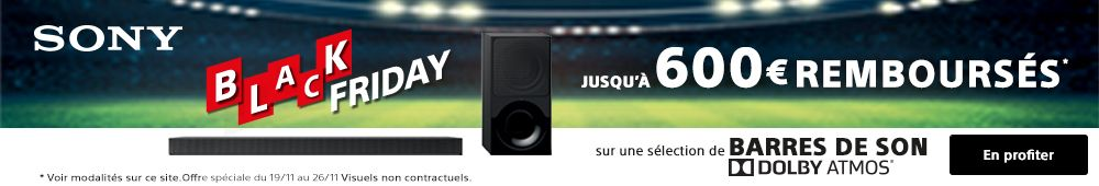 Offre SONY dolby atmos