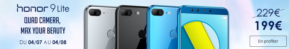 Offre Honor 9 Lite