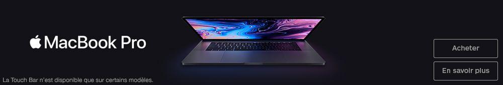 Nouveautés MacBook