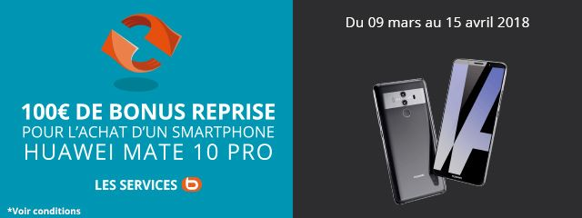 OFFRE MATE 10 PRO