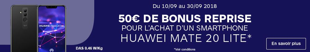 Reprise Huawei