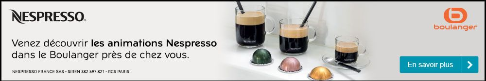 Animation magasin Nespresso