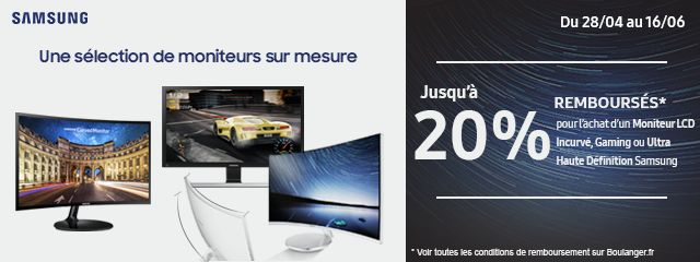 OFFRE SPECIALE SAMSUNG