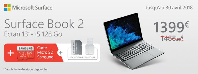 PACK SURFACE BOOK 2