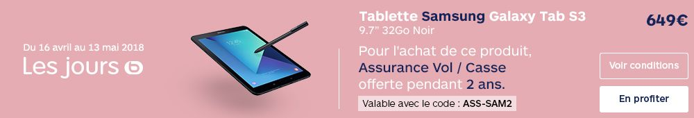 OFFRE TAB S3