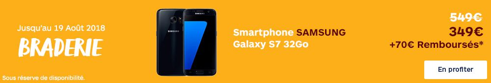 Offre Galaxy S7