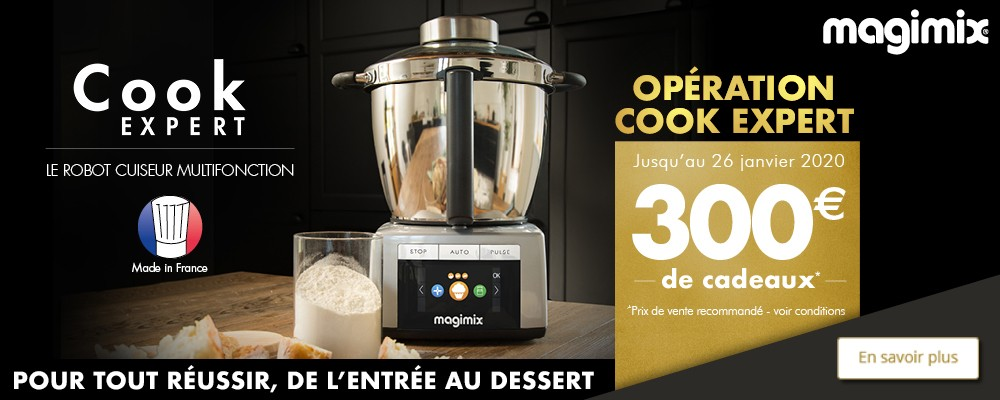 Offre Cook Expert