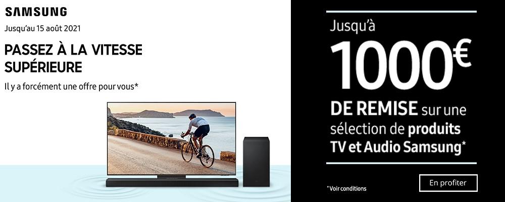 Offre TV Samsung