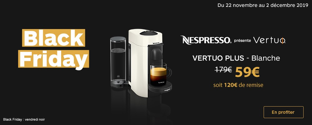 Offre Vertuo