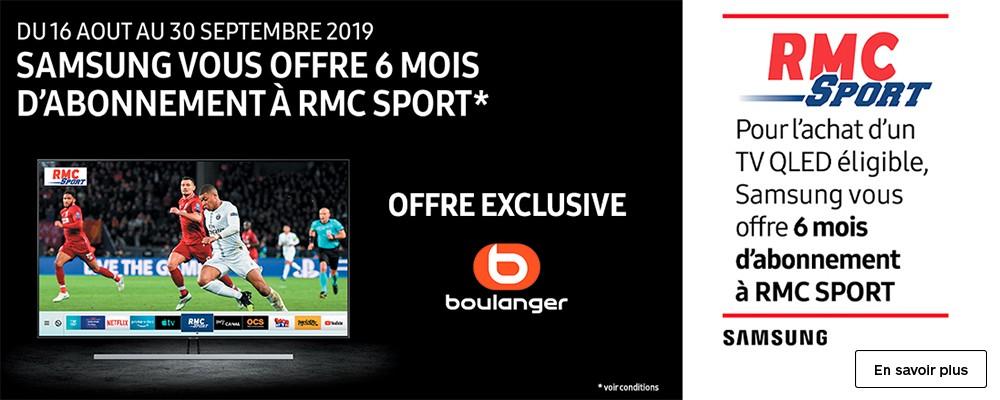 Abonnement RMC Sport