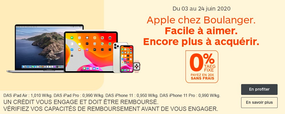 Offre MacBook Air