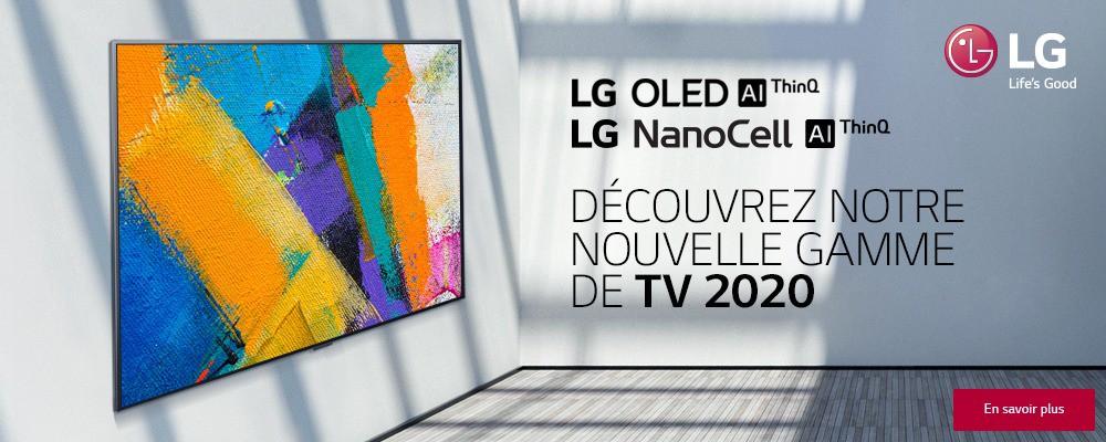 GAMME 2020 TV LG