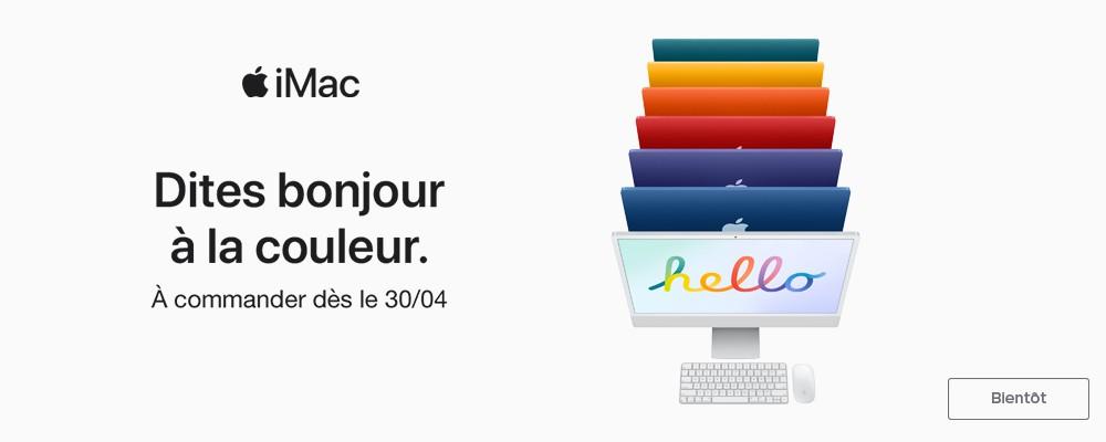 Nouveauté Apple iMac