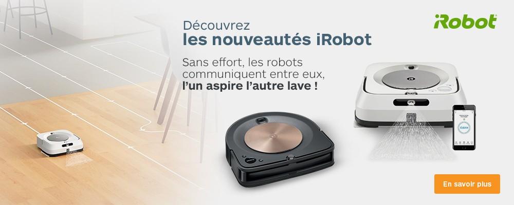 Nouveautés iRobot